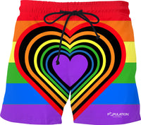 PRIDE Swim Shorts