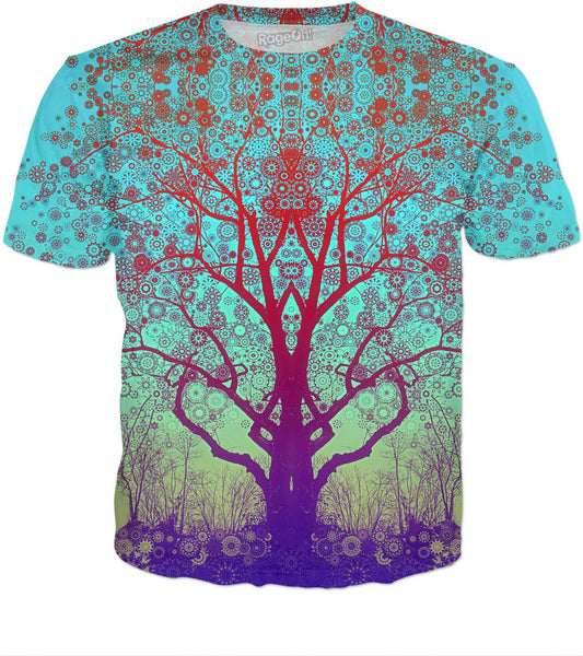 Red Star Trip Tree T-Shirt