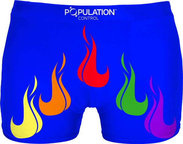 PRIDE FLAMES BLUE