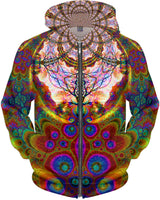 Supersonic Trip Tree Zip Up Hoodie