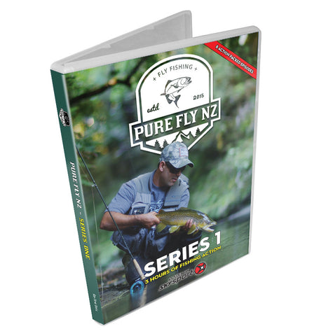 PURE FLY NZ - Season 1 DVD