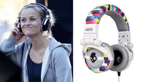 Reese Witherspoon Wearing Skullcandy