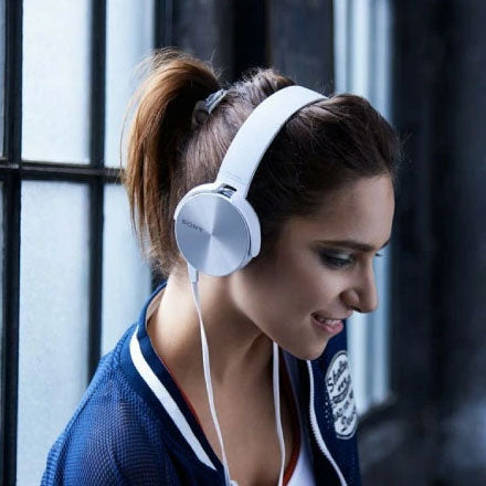 Best Earphones & Headphones under 1500 - Sony MDR-XB450