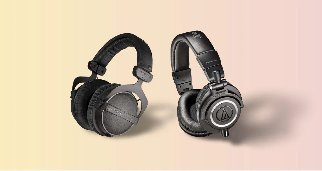 Beyerdynamic DT 770 Pro vs Audio-Technica ATH-M50x