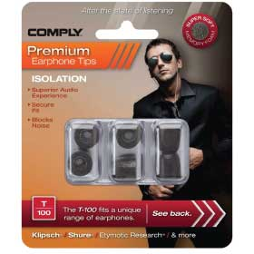Comply Isolation Ear tips