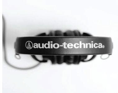 Headphone-Zone-Audio-Technica-ATH-M30x - Matte Plastic Construction