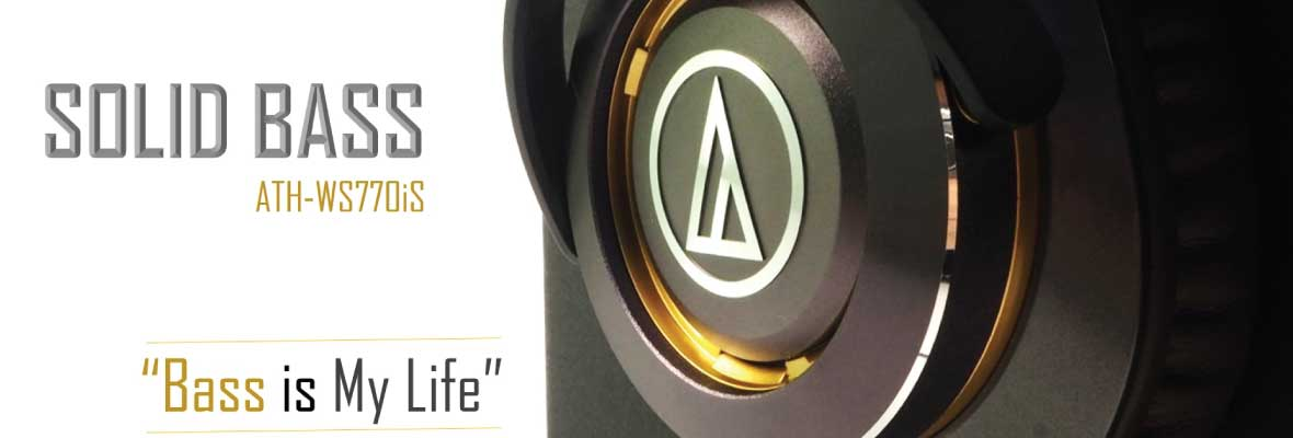 Audio-Technica - ATH-WS770iS