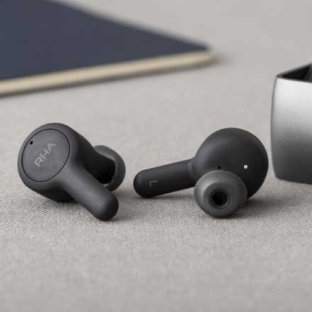 Best Wireless Earbuds for Sports under 9000 - RHA TrueConnect