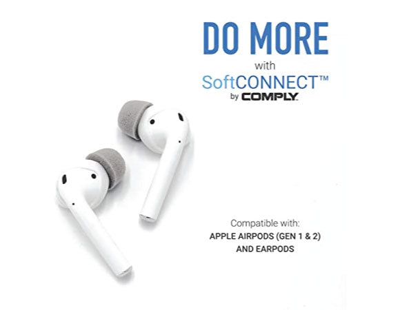 Headphone-ZComply-SoftCONNECT-For-Apple-AirPods