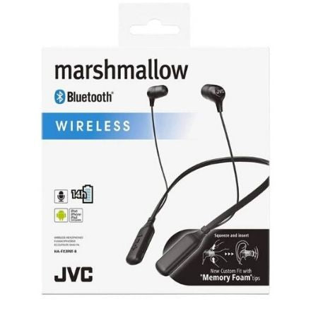 Best Bluetooth Headphones with Neckband - JVC HA-FX39BT