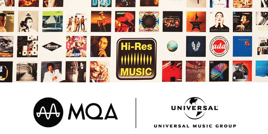 Universal Music and MQA Announce Hi-Res Streaming Collaboration