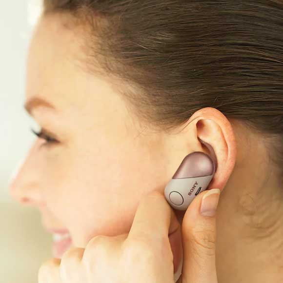 Headphone-Zone-Sony-WF-SP700N - Controls at your Fingertips