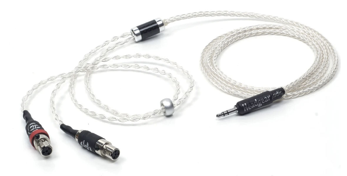 Headphone-Zone-headgear-audio-Athena-Silver-Cable-for-Audeze-LCD-Series-Headphones