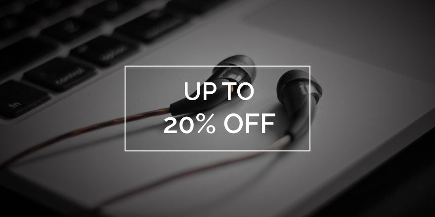 Headphones Up To 20% Off