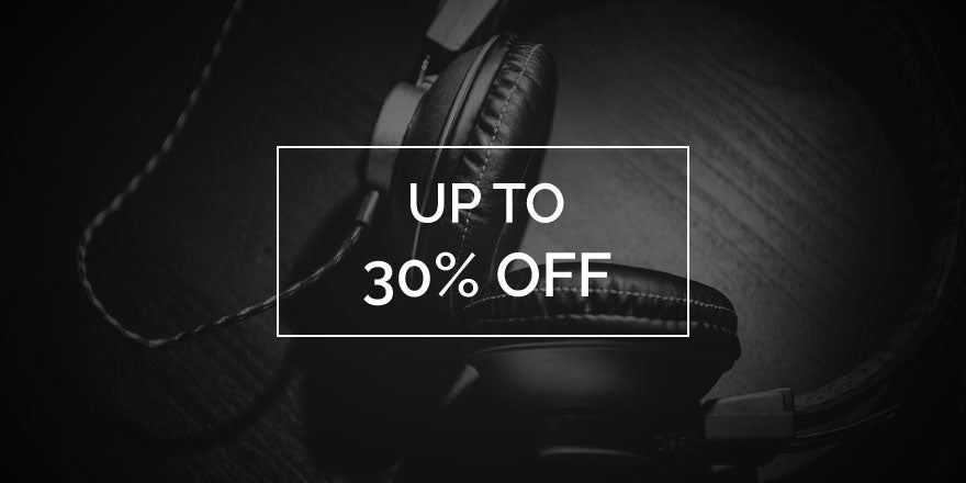 Headphones Up To 30% Off