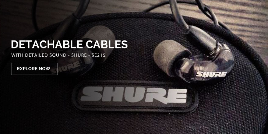 Shure - SE215 Earphones Best Buy Online