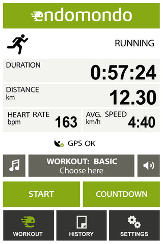 Endomondo app - headphonezone.in
