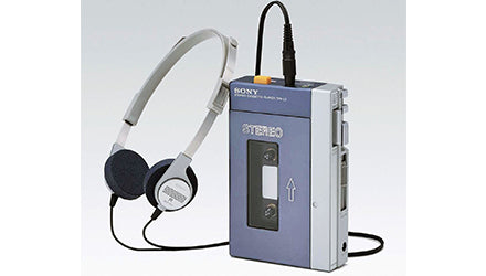Sony first walkman with MDR 3L2
