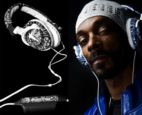 Snoop Dogg With Skullcandy Headphones