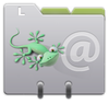 Little Gecko vCard - add to your address book
