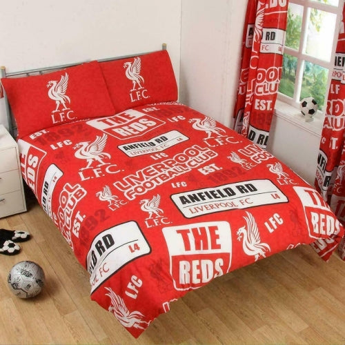 LIVERPOOL FC ~ Double/Queen Bed Quilt Cover Set