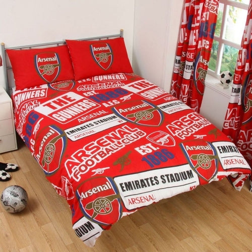 ARSENAL FC ~ Double/Queen Bed Quilt Cover Set
