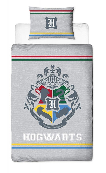HARRY POTTER ~ 'Alumni' Single Bed Quilt Cover Set