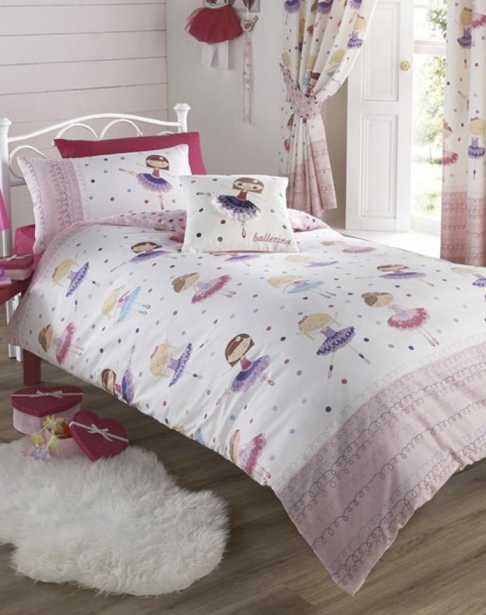 BALLERINA ~ Double/Queen Bed Quilt Cover Set