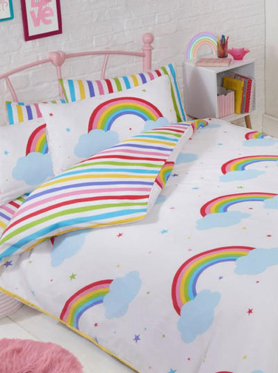 RAINBOW SKY ~ Double/Queen Bed Quilt Cover Set