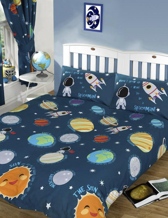 SOLAR SYSTEM ~ Double/Queen Bed Quilt Cover Set