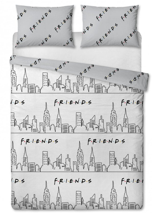 FRIENDS ~ 'Scene' Double/Queen Bed Quilt Cover Set