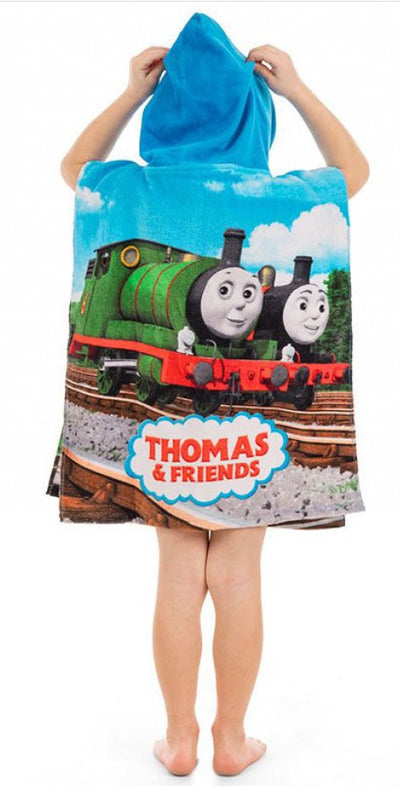 THOMAS & FRIENDS ~ 'Track' Hooded Towel