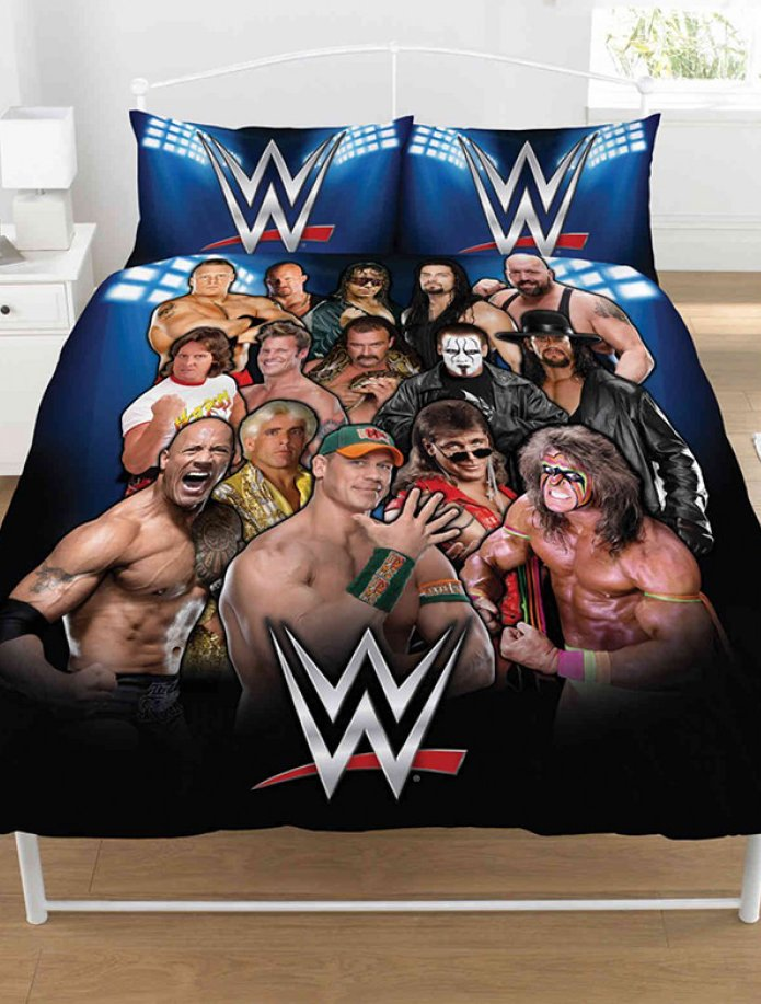 WWE ~ 'Legends' Double/Queen Bed Quilt Cover Set