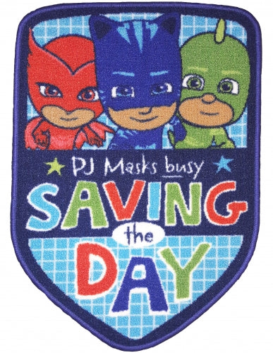 PJ MASKS ~ 'Saving The Day' Floor Rug