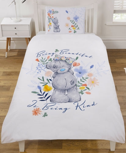 ME TO YOU ~ 'Tatty Teddy' Single Bed Quilt Cover Set