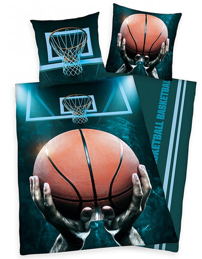 BASKETBALL ~ Single Bed Quilt Cover Set