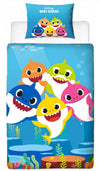 BABY SHARK ~ 'Underwater' Single Bed Quilt Cover Set