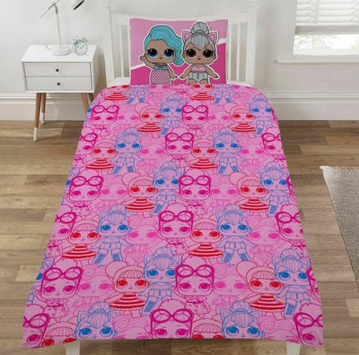 LOL SURPRISE ~ 'Run The World' Single Bed Quilt Cover Set