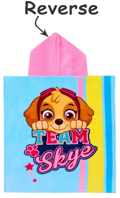 PAW PATROL ~ 'Team Players' Hooded Towel