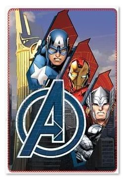 AVENGERS ~ 'Trio' Fleece Blanket