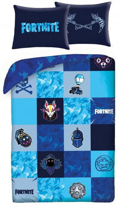 FORTNITE ~ 'Shuffles' Single Bed Quilt Cover Set