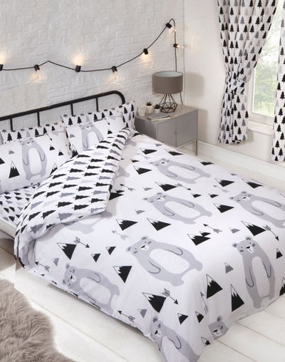 SCANDI BEAR ~ Double/Queen Bed Quilt Cover Set