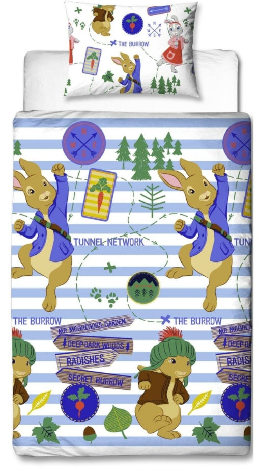 PETER RABBIT ~ Single Bed Quilt Cover Set