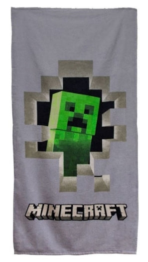 MINECRAFT ~ 'Sandbox' Towel