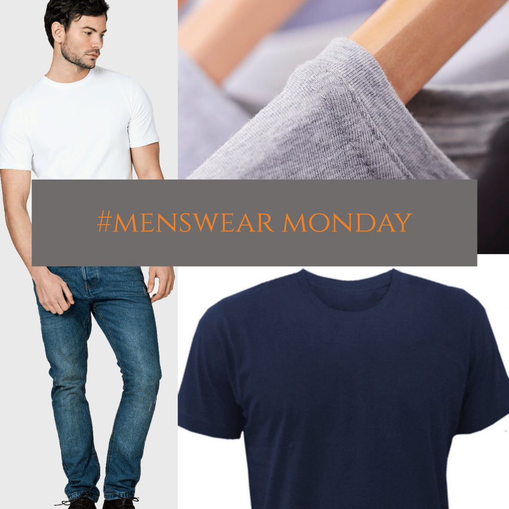 Menswear Monday: plain t-shirts for layering
