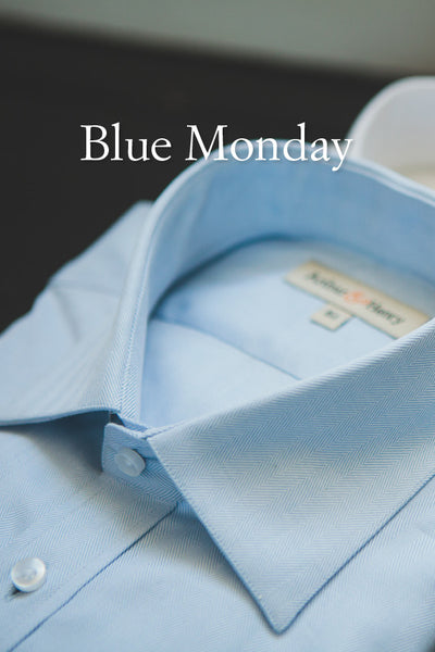 Got the blues. Organic cotton & linen