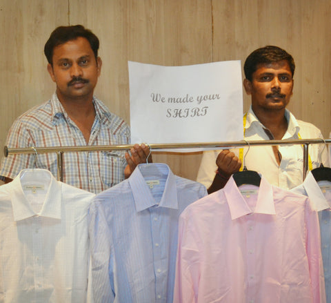 We Made Your Clothes: Fashion Revolution, Arthur & Henry tailors