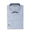 Blue Herringbone Men's Organic Shirt