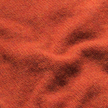 Load image into Gallery viewer, Dean - Soft Lambswool Crew Neck Jumper - Burnt Orange