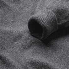 Load image into Gallery viewer, Lambswool V-Neck Jumper - Charcoal